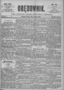 Orędownik: pismo dla spraw politycznych i spółecznych 1899.03.30 R.29 Nr73