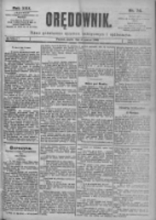 Orędownik: pismo dla spraw politycznych i spółecznych 1899.03.31 R.29 Nr74