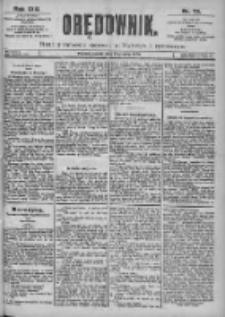 Orędownik: pismo dla spraw politycznych i spółecznych 1899.04.01 R.29 Nr75