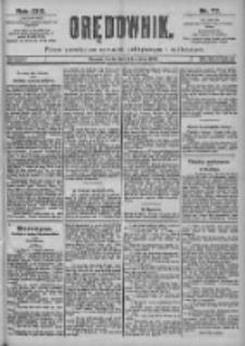 Orędownik: pismo dla spraw politycznych i spółecznych 1899.04.05 R.29 Nr77