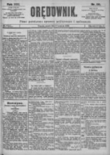 Orędownik: pismo dla spraw politycznych i spółecznych 1899.04.08 R.29 Nr80