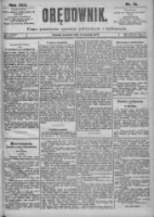 Orędownik: pismo dla spraw politycznych i spółecznych 1899.04.09 R.29 Nr81