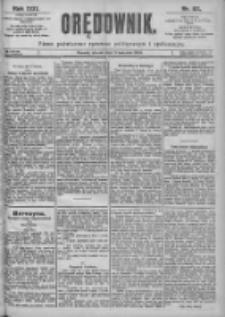 Orędownik: pismo dla spraw politycznych i spółecznych 1899.04.11 R.29 Nr82