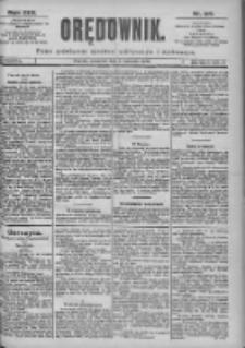 Orędownik: pismo dla spraw politycznych i spółecznych 1899.04.13 R.29 Nr84