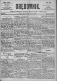 Orędownik: pismo dla spraw politycznych i spółecznych 1899.04.15 R.29 Nr86