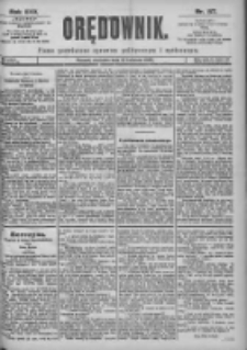 Orędownik: pismo dla spraw politycznych i spółecznych 1899.04.16 R.29 Nr87