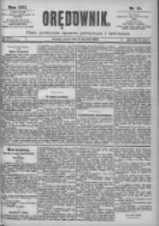 Orędownik: pismo dla spraw politycznych i spółecznych 1899.04.21 R.29 Nr91