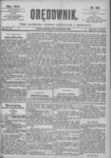 Orędownik: pismo dla spraw politycznych i spółecznych 1899.04.23 R.29 Nr93