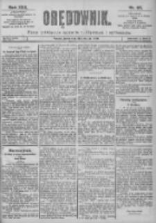 Orędownik: pismo dla spraw politycznych i spółecznych 1899.04.26 R.29 Nr95