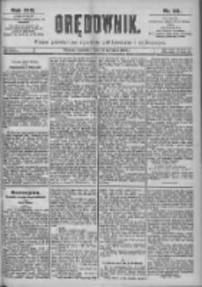 Orędownik: pismo dla spraw politycznych i spółecznych 1899.04.27 R.29 Nr96