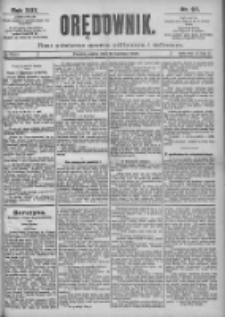 Orędownik: pismo dla spraw politycznych i spółecznych 1899.04.28 R.29 Nr97