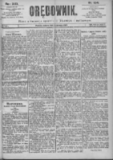 Orędownik: pismo dla spraw politycznych i spółecznych 1899.06.03 R.29 Nr124
