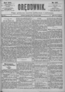 Orędownik: pismo dla spraw politycznych i spółecznych 1899.06.04 R.29 Nr125
