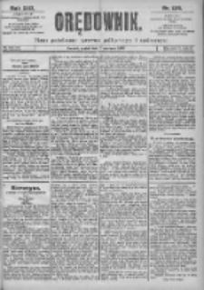 Orędownik: pismo dla spraw politycznych i spółecznych 1899.06.09 R.29 Nr129
