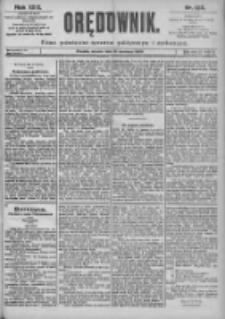 Orędownik: pismo dla spraw politycznych i spółecznych 1899.06.13 R.29 Nr132