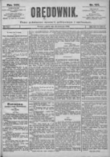 Orędownik: pismo dla spraw politycznych i spółecznych 1899.06.16 R.29 Nr135