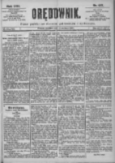 Orędownik: pismo dla spraw politycznych i spółecznych 1899.06.18 R.29 Nr137