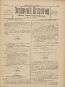 Orędownik Urzędowy Powiatu Wschodnio-Poznańskiego 1923.06.23 Nr20