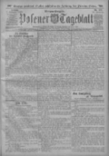 Posener Tageblatt 1913.11.07 Jg.52 Nr522
