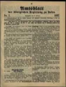 Amtsblatt der Königlichen Regierung zu Posen. 1897.02.16 Nro.7