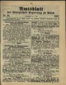 Amtsblatt der Königlichen Regierung zu Posen. 1897.05.04 Nro.18
