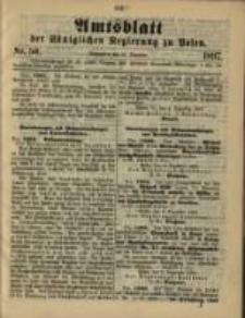 Amtsblatt der Königlichen Regierung zu Posen. 1897.12.14 Nro.50