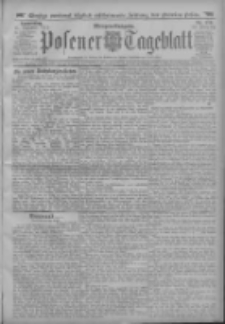 Posener Tageblatt 1913.12.11 Jg.52 Nr579