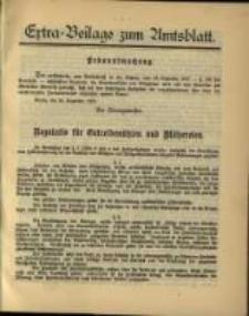 Extra - Beilage zum Amtsblatt
