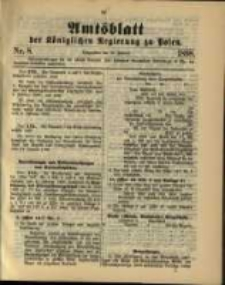 Amtsblatt der Königlichen Regierung zu Posen. 1898.02.22 Nro.8