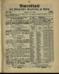 Amtsblatt der Königlichen Regierung zu Posen. 1898.03.15 Nro.11