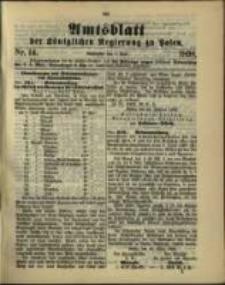Amtsblatt der Königlichen Regierung zu Posen. 1898.04.05 Nro.14