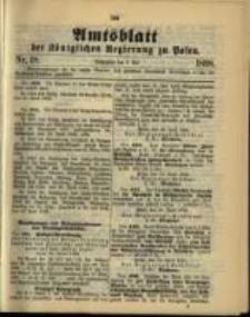 Amtsblatt der Königlichen Regierung zu Posen. 1898.05.03 Nro.18