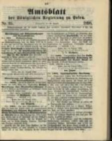 Amtsblatt der Königlichen Regierung zu Posen. 1898.08.30 Nro.35