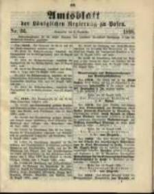 Amtsblatt der Königlichen Regierung zu Posen. 1898.09.06 Nro.36