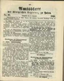 Amtsblatt der Königlichen Regierung zu Posen. 1898.09.13 Nro.37