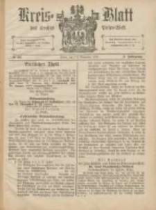 Kreis-Blatt des Kreises Posen-West 1891.11.12 Jg.3 Nr46