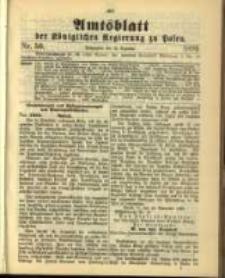 Amtsblatt der Königlichen Regierung zu Posen. 1899.12.12 Nro.50