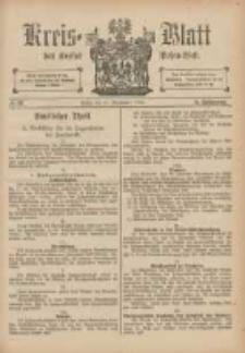 Kreis-Blatt des Kreises Posen-West 1893.09.14 Jg.5 Nr37