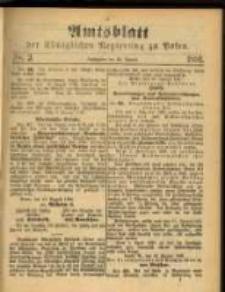 Amtsblatt der Königlichen Regierung zu Posen. 1891.01.20 Nro.3
