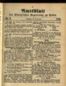 Amtsblatt der Königlichen Regierung zu Posen. 1891.02.10 Nro.6