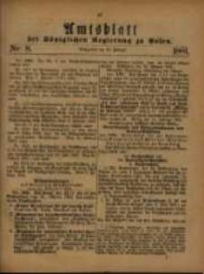 Amtsblatt der Königlichen Regierung zu Posen. 1881.02.22 Nro.8