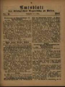 Amtsblatt der Königlichen Regierung zu Posen. 1881.03.01 Nro.9