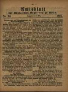 Amtsblatt der Königlichen Regierung zu Posen. 1881.03.08 Nro.10