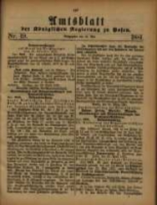 Amtsblatt der Königlichen Regierung zu Posen. 1881.05.10 Nro.19