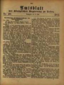 Amtsblatt der Königlichen Regierung zu Posen. 1881.07.19 Nro.29