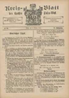 Kreis-Blatt des Kreises Posen-West 1896.10.08 Jg.8 Nr41