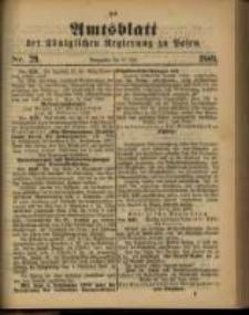 Amtsblatt der Königlichen Regierung zu Posen. 1889.07.16 Nro.29