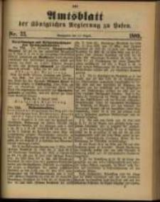 Amtsblatt der Königlichen Regierung zu Posen. 1889.08.13 Nro.33