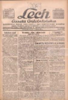 """Lech.Gazeta Gnieźnieńska: codzienne pismo polityczne dla wszystkich stanów. Dodatki: tygodniowy """"Lechita"""" i powieściowy oraz dwutygodnik """"Leszek"""" 1932.04.17 R33 Nr89"""
