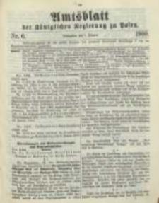 Amtsblatt der Königlichen Regierung zu Posen. 1900.02.06 Nro.6
